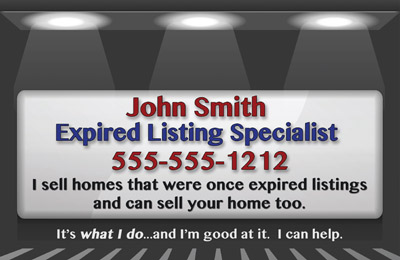 Expired Listing Postcards Real Estate Expired Listing